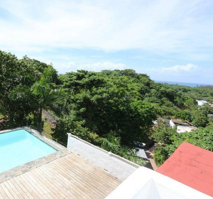 House with ocean view in Las Terrenas, Samana