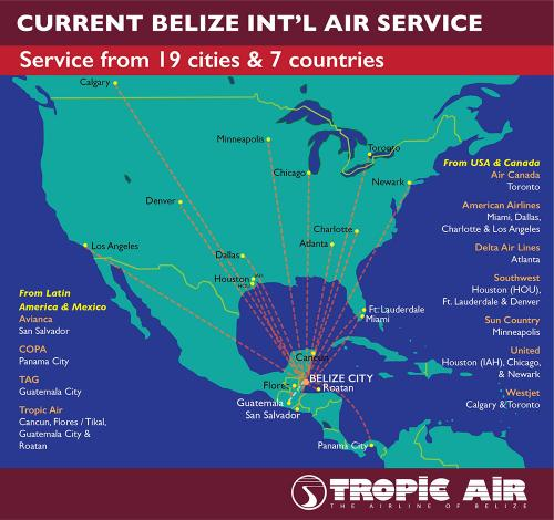 Belize International Airport - Placenica
